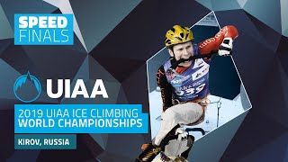 Kirov, Russia l Speed Finals l 2019 UIAA Ice Climbing World Championships