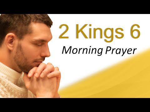 DIVINE PROTECTION - 2 KINGS 6 - MORNING PRAYER (video)