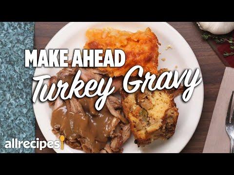 How to make Delicious Homemade Turkey Gravy | Thanksgiving Turkey Gravy | Allrecipes.com