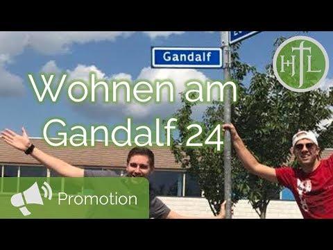 VLOG - Wohnen am Gandalf 24 oder Aragorn 69 - Besuch der Tolkien Stadt Geldrop [Niederlande]