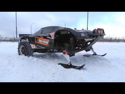 Бензиновая HPI Baja 5T на лыжах со злой резиной сзади! ... Баха 5T, часть 4 - UCvsV75oPdrYFH7fj-6Mk2wg