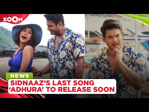 Sidharth Shukla and Shehnaaz Gill's LAST unfinished music video titled Adhura to release soon
