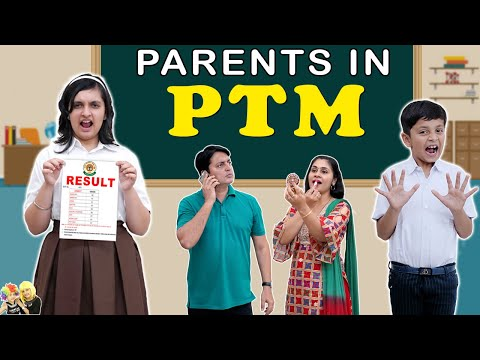 PARENTS IN PTM   Types of Parents during parent teacher meeting   Aayu and Pihu Show