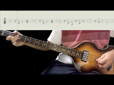 Bass TAB : Till There Was You - The Beatles
