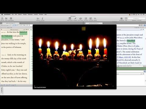 Hanukkah (Lighting the Lamp Video Podcast #150)