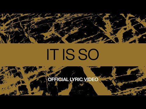 It Is So  Official Lyric Video  At Midnight  Elevation Worship