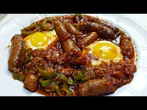 Ojja aux Merguez et aux œufs | Cuisine Tunisienne - default