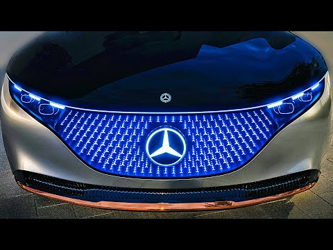 Mercedes-Benz Vision EQS ? Next-Gen Mercedes S-Class