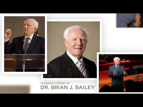Remembering Dr. Brian Bailey  Cornerstone Community Church