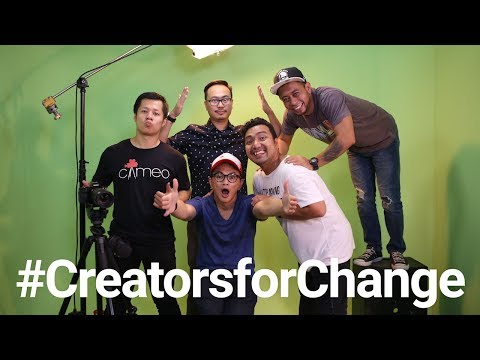YouTube Creators for Change: Cameo Project