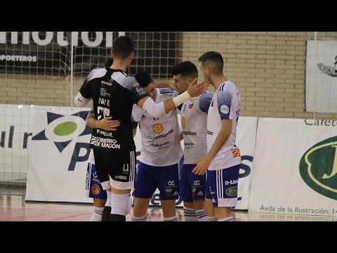 Futbol Emotion Zaragoza - Inter FS Jornada 12 Temp 20-21
