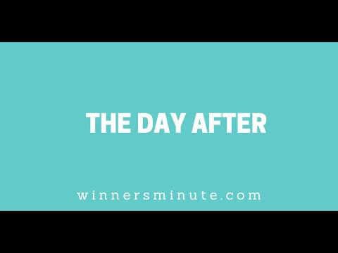 The Day After // The Winner's Minute With Mac Hammond