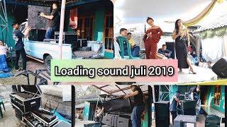 Loading sound system  juli 2019