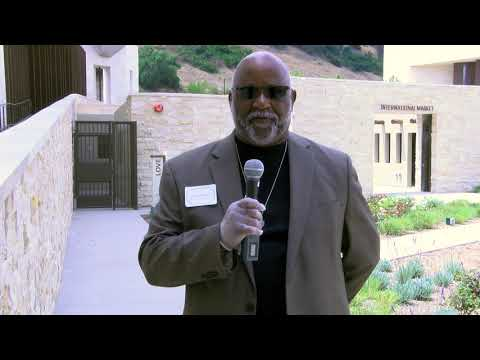 Pastor Phillip Brown Visits The Legacy Center