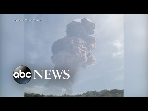 Volcanic eruptions continue to rock island nation as people refuse to leave