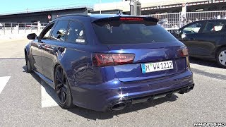 Best Sounding Audi RS6 C7 I Have Ever Heard! – LOUD Custom Exhaust!
