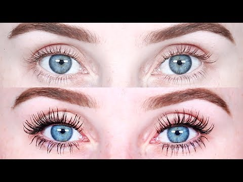 "TESTING OUT DRUGSTORE MASCARAS""! 