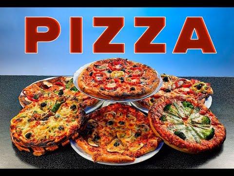 Пицца-Симфония ||| 6 видов пиццы на гриле или в духовке ||| Читайте описание и верхний комментарий||