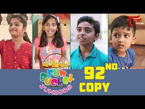 Fun Bucket JUNIORS | Episode 92 | Kids Funny Videos | Comedy Web Series | By Nagendra K | TeluguOne