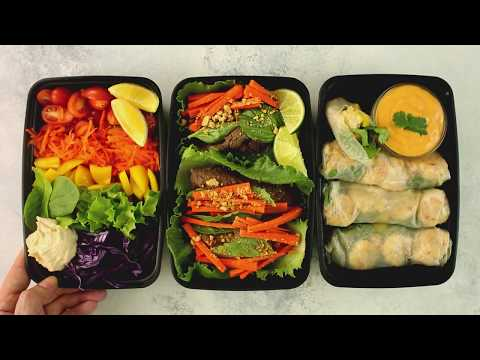 3 Light Make-Ahead Lunches To Meal Prep For Your Week