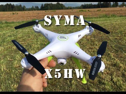 Syma's X5HW Camera/Wifi Auto Hover Quadcopter Drone Flight Review PT2 - UCLqx43LM26ksQ_THrEZ7AcQ