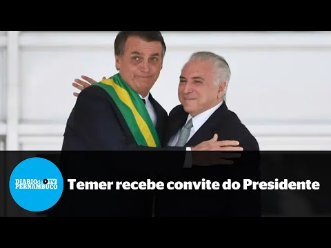 Bolsonaro convida Temer para missão no Líbano