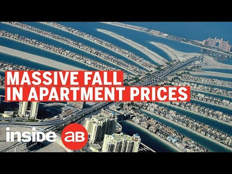 Why have property prices fallen by 9.5%?