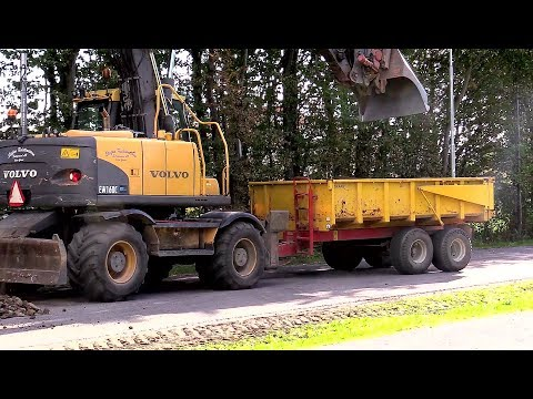 EW160C Wheeled Excavator with Trailer T-041/S More