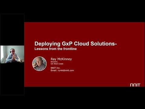 Webinar - Deploying Cloud Solutions: Lessons from the Frontline