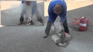 Staubfrei Beton Und Keramik Schneiden Youtube