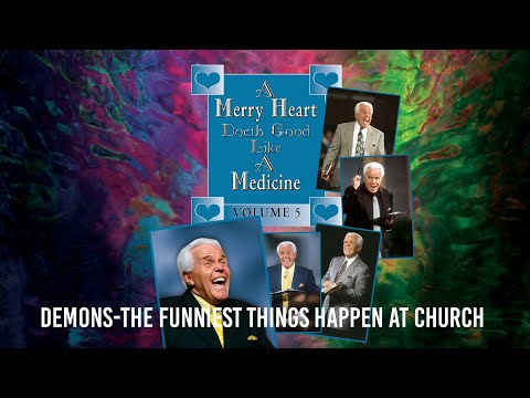 Merry Heart: Demons- The Funniest Things Happen at Church  Jesse Duplantis