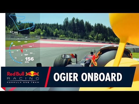 Onboard with Sébastien Ogier! 4 time World Rally Champion drives the RB7 Formula 1 car