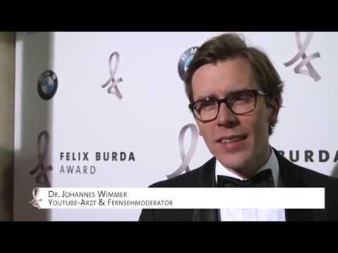 Laudator Dr. Johannes Wimmer lobt den Felix Burda Award