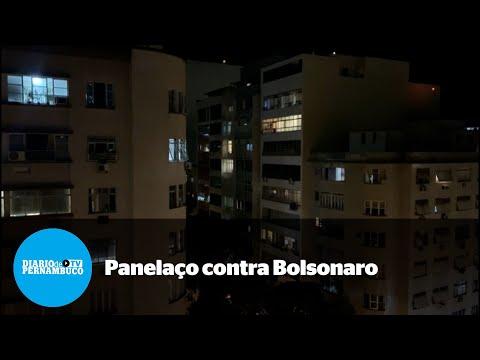 Na pior fase da pandemia, cidades fazem panelaço contra Bolsonaro