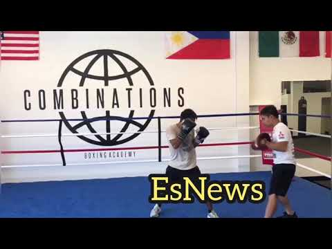 Marvin Somodio Manny Pacquiao Coach Opens New Gym in Lawndale