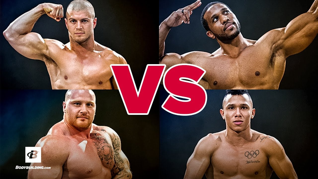 Weightlifter vs Powerlifter vs Bodybuilder vs CrossFit Athlete | Brute Showdown: Episode 1