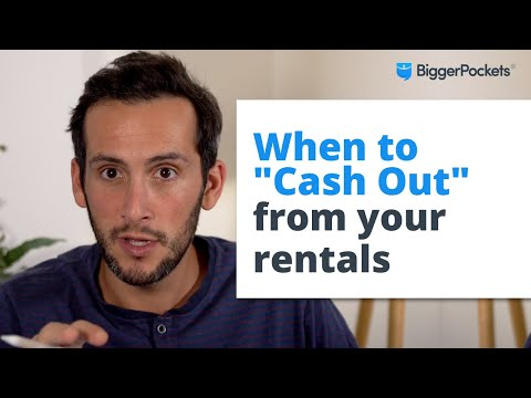 When to Cash-Out Refinance a Rental Property