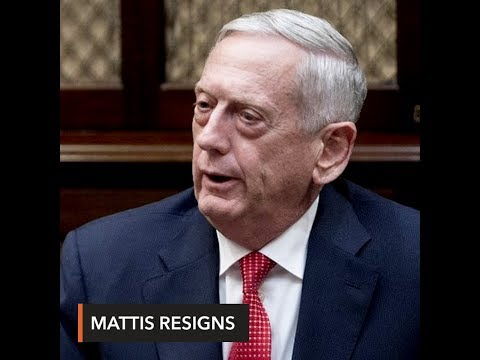 U.S. defense chief James Mattis quits