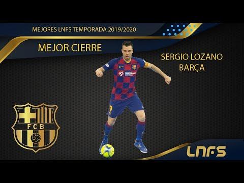 Sergio Lozano, Trofeo al 'Mejor Cierre' de la LNFS en la Temporada 2019/20