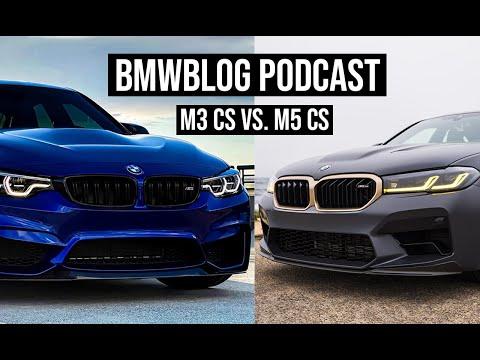 M3 CS and M5 CS Reviews | BMWBLOG Podcast Ep. 56