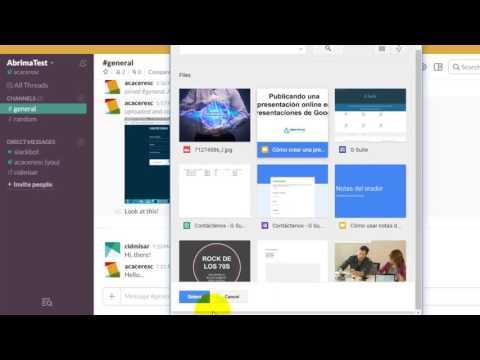 Cómo integrar Google Drive con Slack