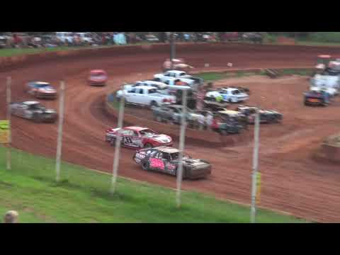 Modified Street at Winder Barrow Speedway July 24th 2021 - dirt track racing video image