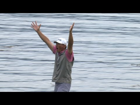 Ken Tanigawa?s incredible eagle putt to win at PURE Insurance