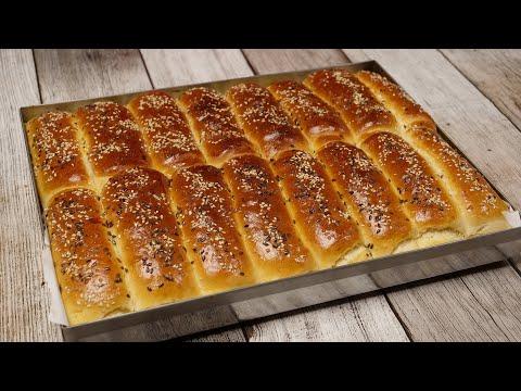 Najmekše kifle - Turske kifle mekše i od pamuk kifli (ENG SUB)