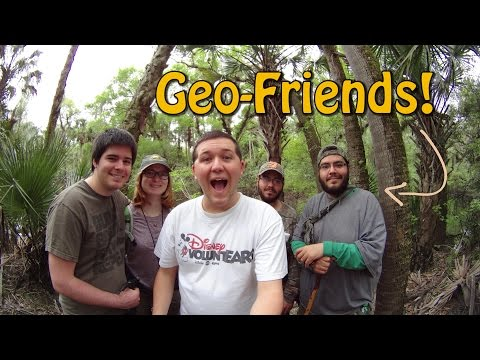 Making Friends While Geocaching
