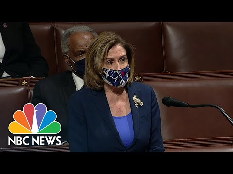 Pelosi: 'The President Must Be Removed From Office Immediately' | NBC News