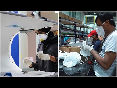 UAE aerospace manufacturer Strata pivots from plane parts to mask production during pandemic