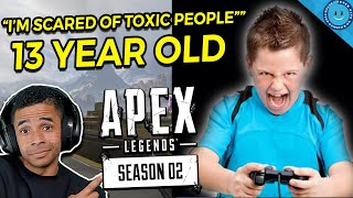 This 12-Year Old Was AFRAID To Play Apex Legends...Then He COACHED Me to VICTORY! (Gameplay)