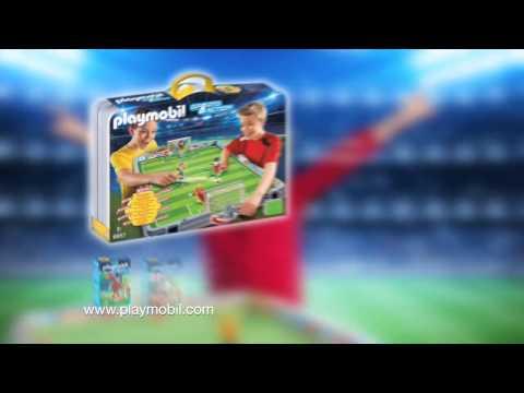 PLAYMOBIL présente... Le match de foot de l'année! (Belgique)