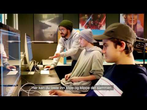 Her kan ungdom fordype seg i filmproduksjon på fritiden